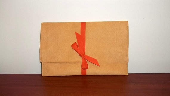 Prices already reduced  Fold over handbag clutch pouch  by ILAJLA, $21.00