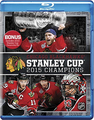 NHL Stanley Cup Champions 2015: Chicago Blackhawks [Blu-ray]  Season, Playoff And Stanley Cup Highlights From The Blackhawks  Interviews With Key Players And Coaches  Behind The Scenes With The Stanley Cup  Extended Locker Room Stanley Cup Celebration  Extended Chicago Parade Celebration