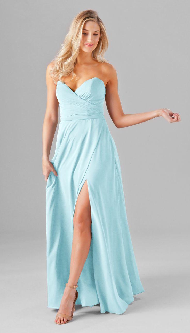 Kennedy Blue Poppy Bridesmaid Dress