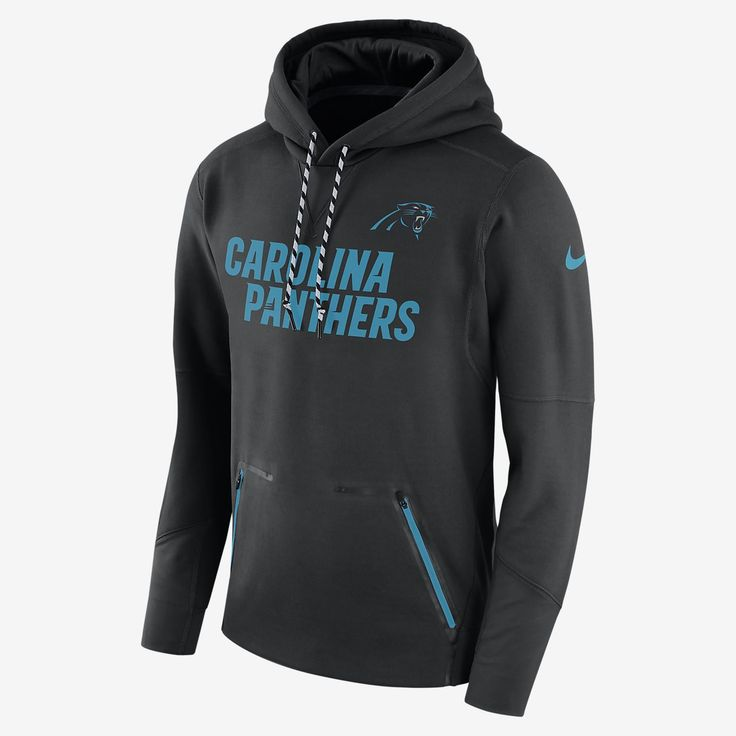 Nike Therma Player (NFL Panthers) Men's Hoodie
