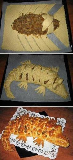 Alligator Bread - looks interesting to try - requires some improvising