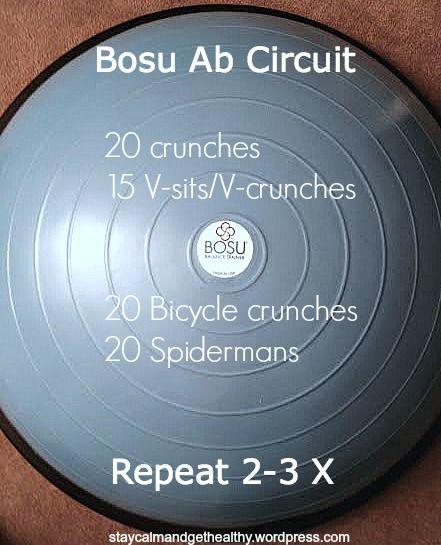 Bosu Ball Benefits: 91 Best Images About Bosu Ball Workouts On Pinterest
