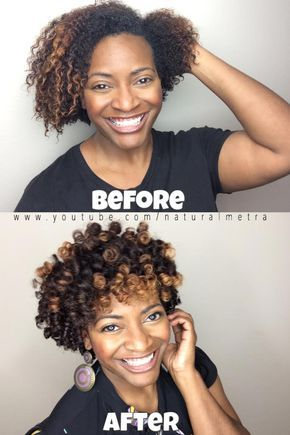 Perm Rod Greatness for Short Natural Hair | Curly Nikki | Natural Hair Styles and Natural Hair Care