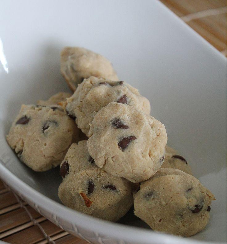 Печенье из кокосовой муки с шоколадными каплями
