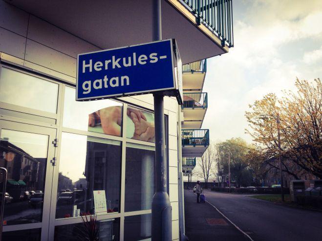 Herkulesgatans poesi