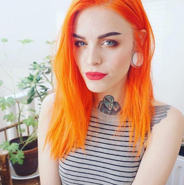 orange hair dye ideas