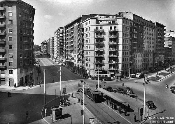 Piazzale delle provincie (agosto 1954)