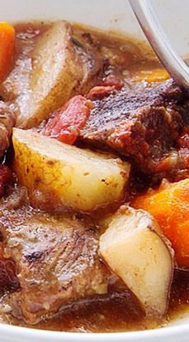 Slow Cooker Carribean Beef Stew