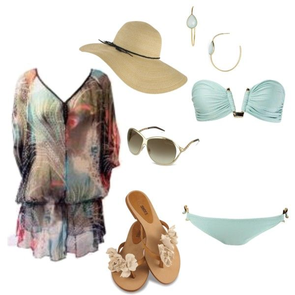 """I hear summer calling"" by bonnaroosky on Polyvore"
