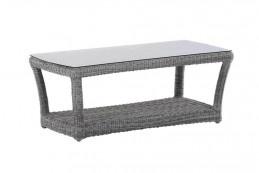Innovativ, flexibel und immer am Puls der Zeit – das zeichnet Domus Ventures aus. So punkten die Möbel, die von international bekannten und kreativen Designern entwickelt wurden, mit spannenden Material- und Design-Neuheiten. Die hochwertig verarbeiteten Gartenmöbel aus wetterfestem Polyrattan werden Ihnen lange Freude bereiten und Sie stilvoll und elegant durch viele Sommer begleiten. Mit dem Vernazza Coffee Table bringen Sie das gewisse Etwas in Ihren Wohn-, Lounge- oder Outdoorbereich.