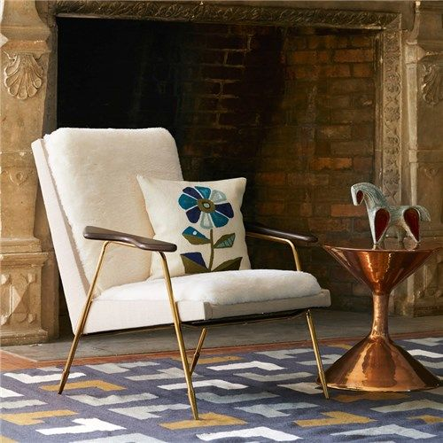 Jonathan adler ingmar chair furniture pinterest chairs jonathan adler and ps - Bank cabriolet linnen ...