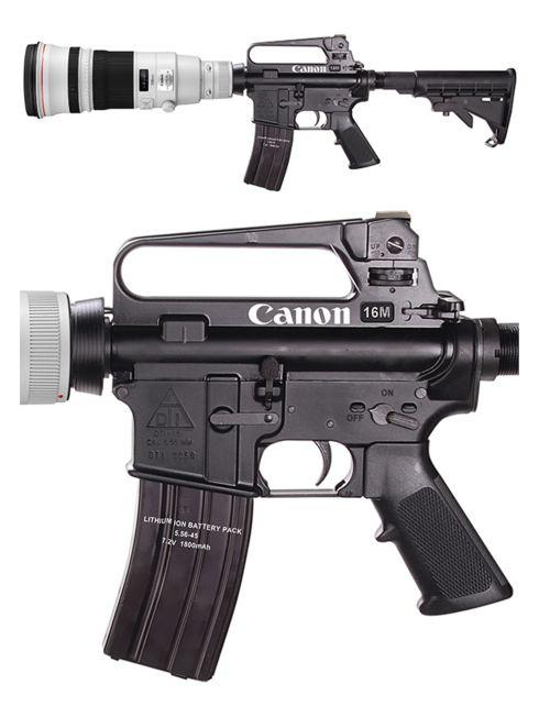 I shoot.......Canon