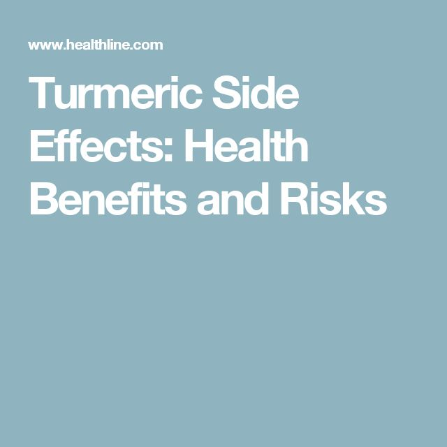 Turmeric Side Effects: Health Benefits and Risks