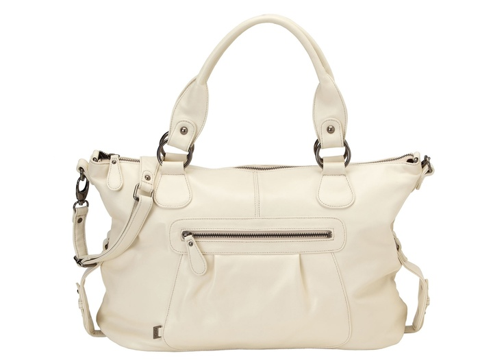 OiOi Tote Slouch Ivory Nappa - Bonti