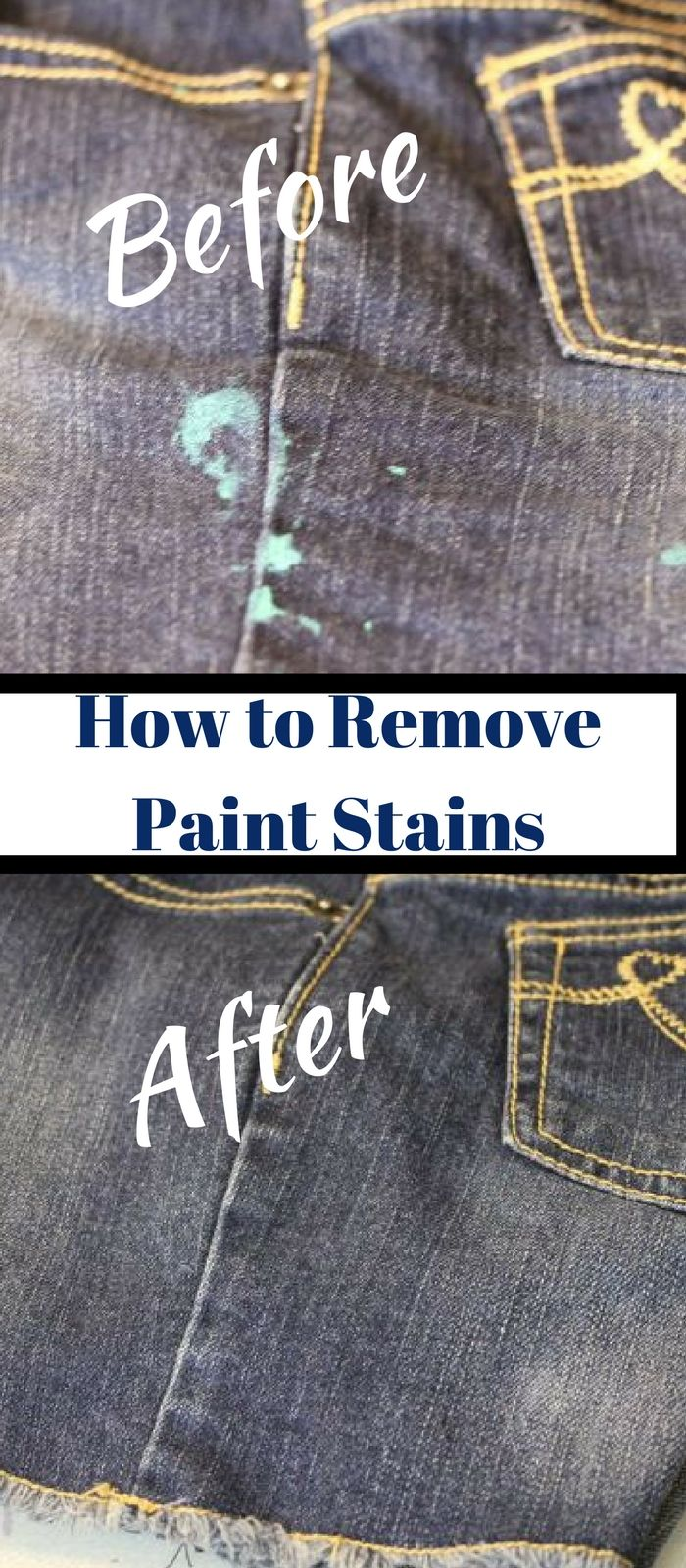 How To Remove Dried Paint From Clothing Quick And Easy Paint