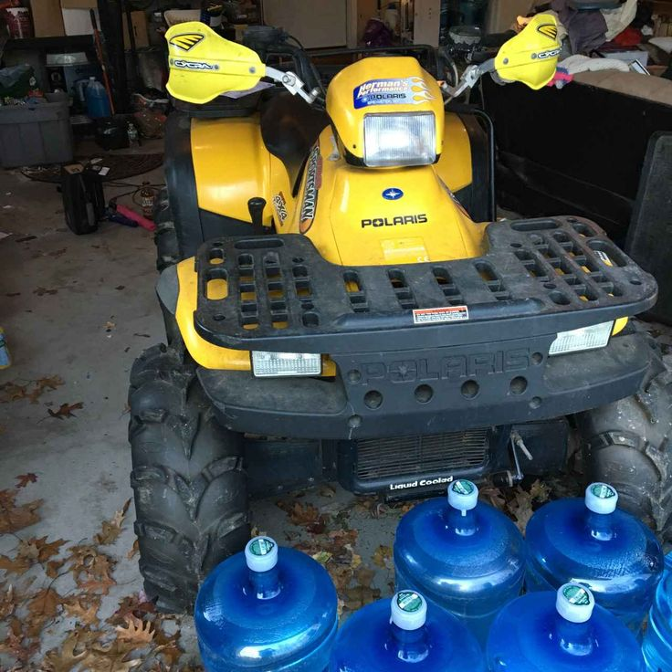 Used 2001 Polaris SPORTSMAN 400 ATVs For Sale in Connecticut. This is a yellow and black 2001 Polaris 4x4 Sportsman 400. Second owners, selling due to divorce. Runs great and comes with a snow plow attachment. Additional photos available if desired!