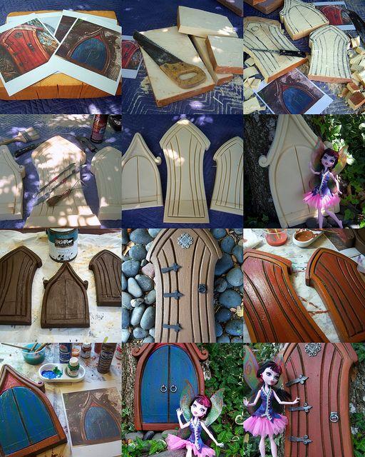 making of fairy doors