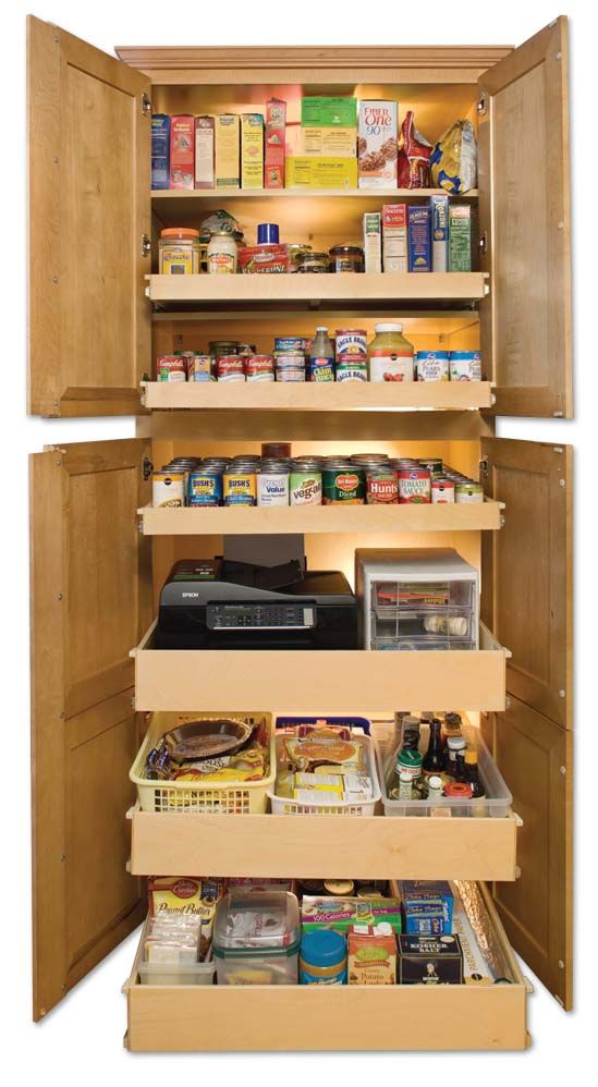 Kitchen Storage Ideas 2 Of These On Either Side Of A