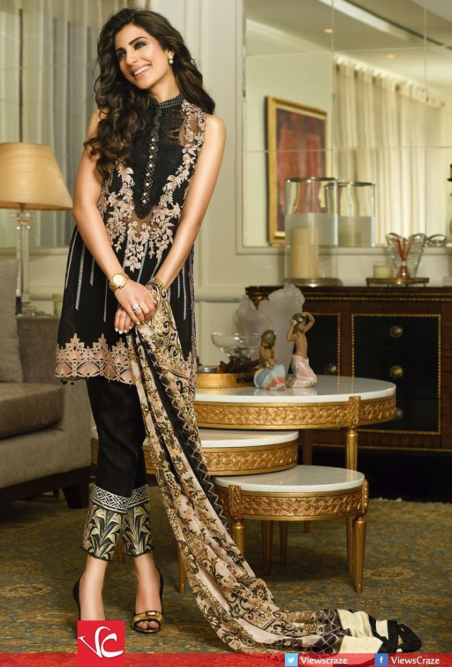 Faraz Manan's Crescent Luxury Collection 2015