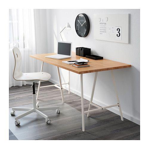 GERTON / LERBERG Table - hêtre/blanc - IKEA