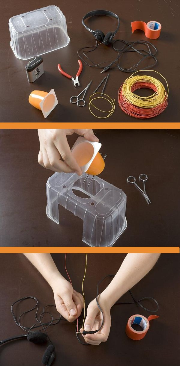 Kinder-Experiment: Mikrofon selbst bauen