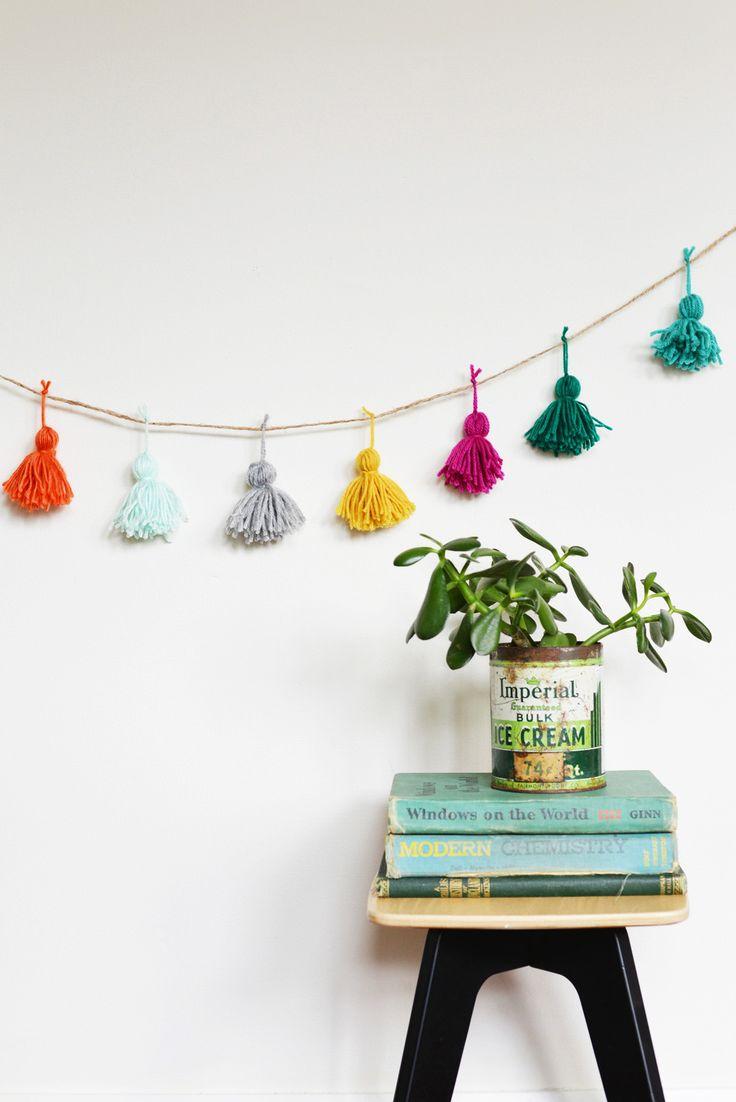 25+ unique Diy tassel garland ideas on Pinterest | Tassel garland ...