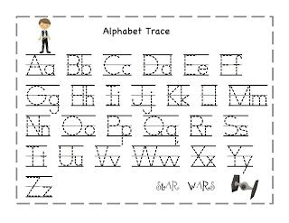 Preschool Printables Star Wars Star Wars Alphabet