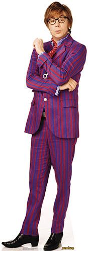 Austin Powers III - Mike Myers Lifesize Cardboard Cutout. Gotta have this.