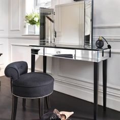 The best inspirations for your next interior design project! Find the right dressing table at http://www.maisonvalentina.net/