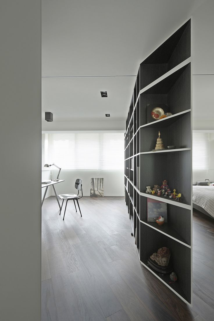tsao residence - room partitions by KC design studio
