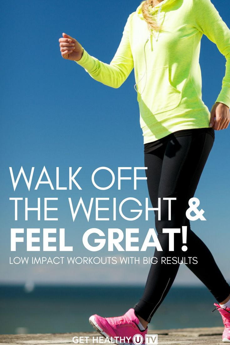 Walk off the weight, burn the fat and feel great with this Walk & Tone workout program. Walking is one of the best low impact cardiovascular workouts you can do and these upbeat indoor walking workouts help you burn calories and get strong all while having fun. The convenience of walking miles in your home is excuse-proof. Get started on your way to looking and feeling fit!