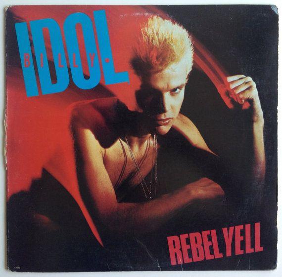 Billy Idol - Rebel Yell LP Vinyl Record Album, Chrysalis - FV 41450,  Pop Rock, Synth-pop, 1983, Original Pressing