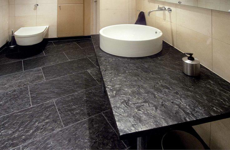 Verschillende toepassingen van Noors natuursteen #toilet