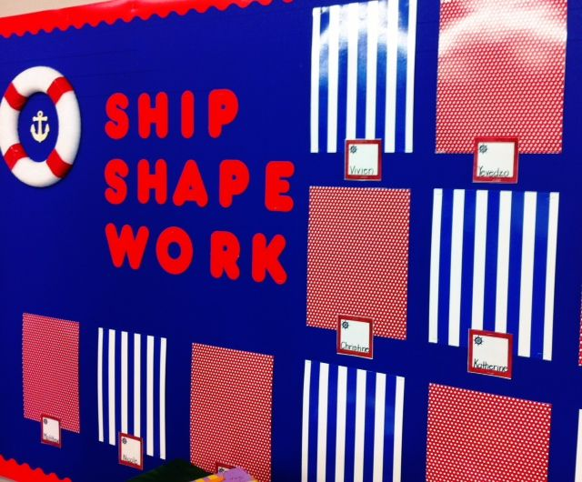 My Nautical Classroom! Great to display students work