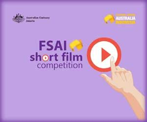 #FSAI2017 #FestivalSinemaAustraliaIndonesia #ShortFilmCompetition #AustraliaEmbassy FSAI Short Film Competition 2017 Berhadiah Jalan-jalan ke Australia  DEADLINE: 13 Desember 2016  http://infosayembara.com/info-lomba.php?judul=fsai-short-film-competition-2017-berhadiah-jalan-jalan-ke-australia