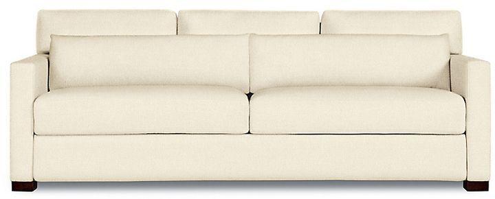 Design Within Reach Vesper King Sleeper Sofa Offwhite Fabric