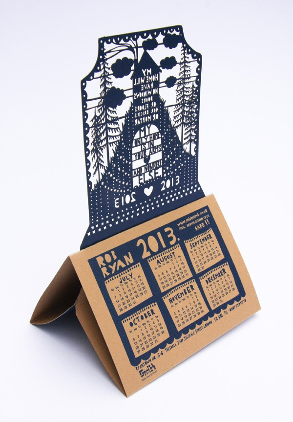 Rob Ryan 2013 Desk Calendar by misterrob on Etsy