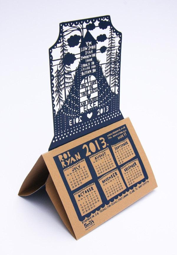 Rob Ryan 2013 Desk Calendar by misterrob on Etsy