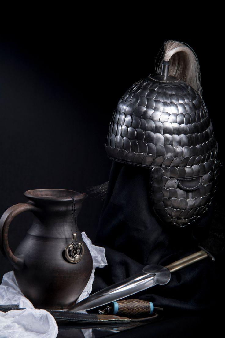Скифы Скиф Скифский воин Scythian warrior Scythians Scythian Helmet Scythian warrior V-IV century BC From the mound near the village of Gladkovschina .