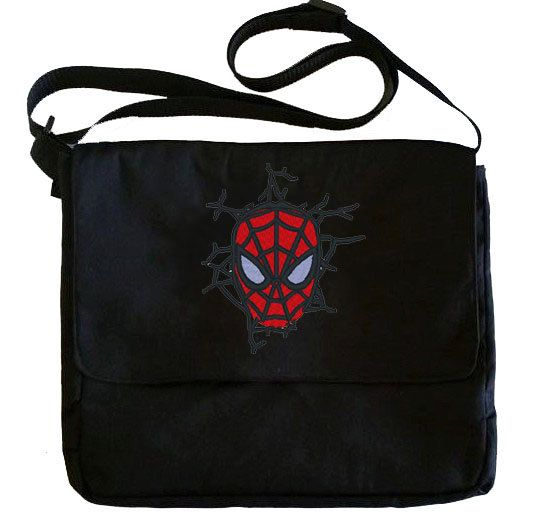 Spiderman bag, messenger bag, school bag, back to school, Marvel Comic book bag, Geeky gifts - pinned by pin4etsy.com