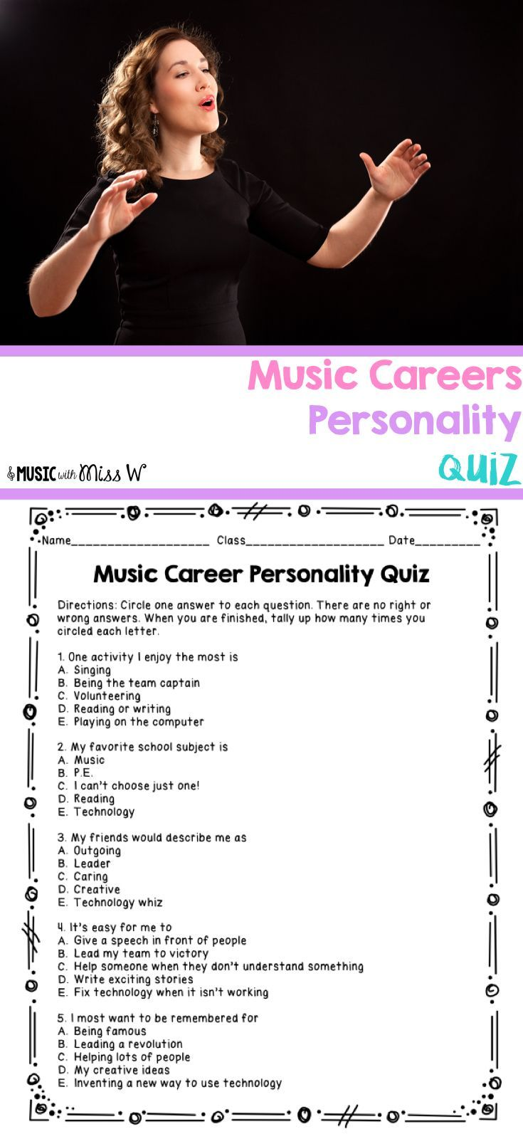 music careers personality quiz - Looking For New Career Ideas Try These New Career Options