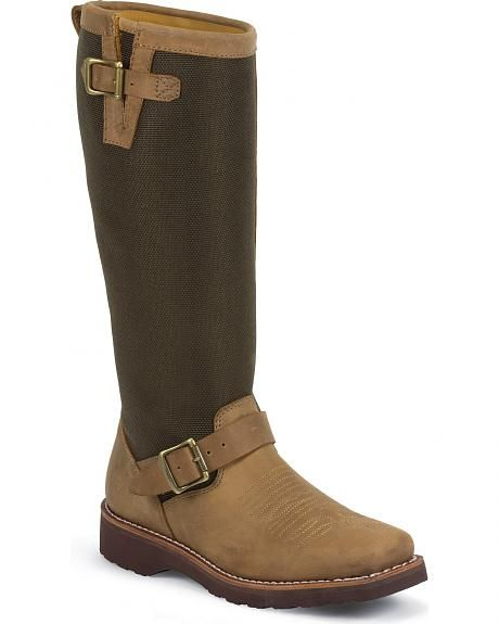 Chippewa Women's Rodeo Snake Boots - Square Toe size 7.5