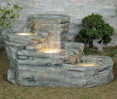 Rockery water fountain decoration lucky water features home decoration