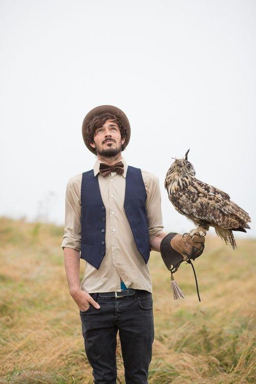 samuelpilot:  The Owl,A dapper man's best friend