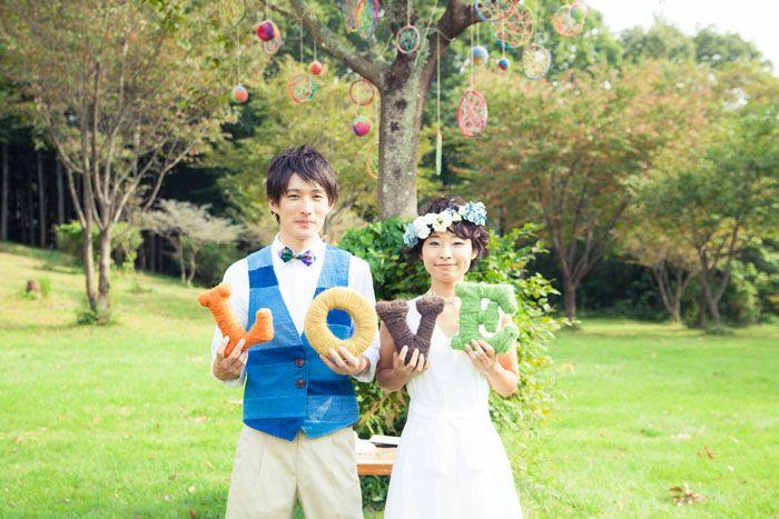 Garden wedding / ガーデンウェディング / ガーデン結婚式 / 野外 結婚式/ dress / ドレス / ティアラ http://www.crazywedding.jp/smile/ crazy wedding / ウェディング / 結婚式 / オリジナルウェディング/ オーダーメイド結婚式