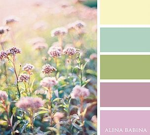 Alina Babina | Алина Бабина | FLOWERS #ColorPalette