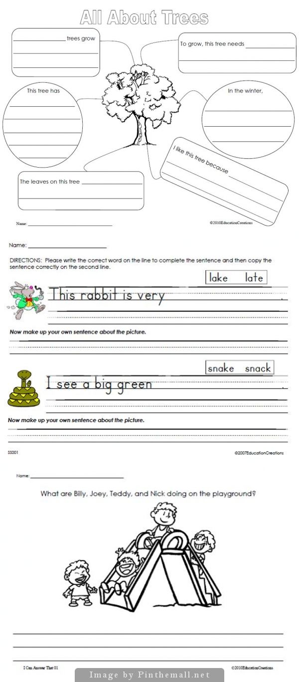 Daily Writing Samples Graphic Organizers and Writing Prompts - Daily Writing (DOL), Beginning, Middle, and Advanced levels (This work spirals!) Blank writing paper templates Blank letter writing templates (dozens!) Graphic Organizers (including all 50 states and many countries) Five Questions (answering sentences in complete sentences...more than 50 of them) Figurative Language prompts