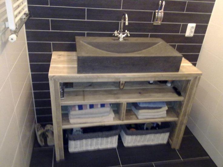 meuble salle de bain pays bois - Meuble Salle De Bain Unique Onde