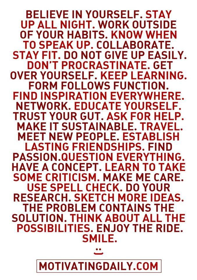 motivating you daily!  quote.  advice.  wisdom.  life lessons.