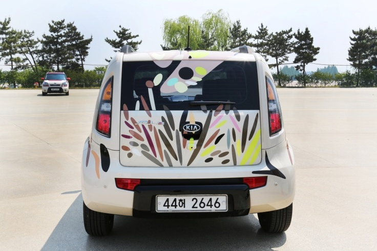 Kia Soul 'Art Cars' decorated with Nora Noh's signature motifs, patterns and designs.Icons Designer'S, Fashion Pattern, Art Cars, Noh Signature, Designer'S Signature, Signature Motif, Nora Noh, Kia Soul, Signature Fashion